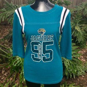 Jacksonville Jaguars Ladies Jersey Tee Shirt